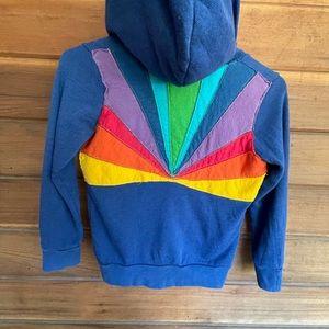 Aviator Nation Kids rare sunburst hoodie size 8